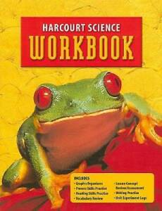 Harcourt Science Workbook - Paperback By HARCOURT SCHOOL PUBLISHERS - GOOD