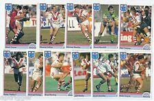 1992 Regina NSW Rugby League ST. GEORGE Team Set (11 Cards) ++++