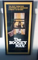 The Boogeyman - Original Australian Cinema Theatre Daybill Poster - Framed