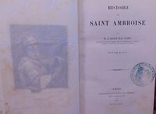 Baunard Histoire de Saint Ambroise...