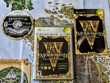 Morrowind Game of the Year Edition Complete with Map for Xbox **TESTED & WORKS**