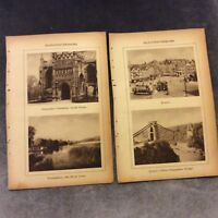 Vintage Book Prints -  Gloucestershire, UK - 1931