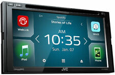 JVC Double DIN Bluetooth TouchScreen Sirius XM Ready w/ WebLink   KW-V640BT