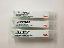 "3pc) YG1 1/2"" ALU-POWER Carbide End Mills for Aluminum YG-1 .375 3FL 28593"