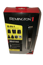 Remington Rechargeable Hair Clipper beard trimmer Men 8-in-1 Grooming Kit
