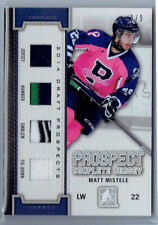 Matt Mistele 2014-15 In The Game Heroes And Prospects Draft Complete Jersey /9