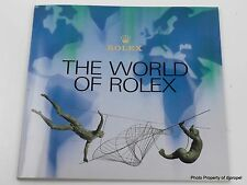 1980's Vintage Rolex Book! The World of Rolex! Full Color and Very Nice!