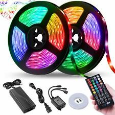 LED Strip Lights,32.8FT LED Music Sync Color Changing Lights with 40keys Music