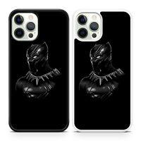 Black Panther Superhero Vibranium Suit Marvel Comic Book Phone Case Cover