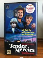 Tender Mercies 2 ex-rental VHS releases Warner + Thorn EMI Drama Robert Duvall