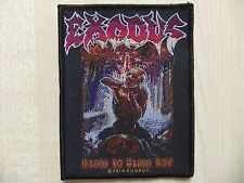 Aufnäher - Patch - Exodus - Blood In Blood Out - Overkill - Testament - D.R.I.