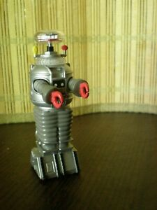 """Vintage 1997 Lost in Space 3.5"""" B-9 ROBOT Talking Keychain"""