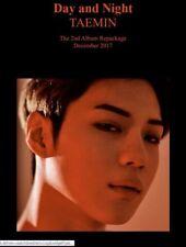 K-POP TAEMIN SHINEE 2nd Repackage Album [MOVE-ing] CD+Photobook+Photocard Sealed