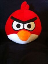 """ANGRY BIRD Season Red Devil Plush With Horns! 6"""""""