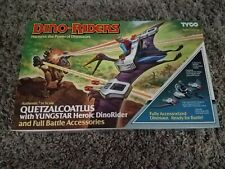 Vtg Tyco Dino Riders Series 1 QUETZALCOATLUS W/YUNGSTAR MISB Complete Boxed 1987