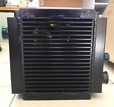 SUPER HEAVY DUTY HYDRAULIC OIL COOLER with ITALIAN SPAL DC24V FAN (ECO-07)