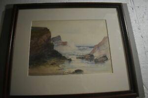 Julian Rix (1850 –1903) Watercolor