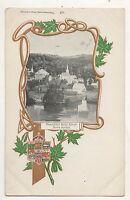 Beautiful Bear River NOVA SCOTIA NS Canada Vintage Postcard
