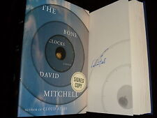 David Mitchell signed The Bone Clocks 1st printing hardcover book