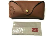 SPECIAL EDITION CASE Ray Ban Sunglasses Brown Case With Cleaning Cloth
