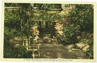 Grotto Rock Garden Soboba Hot Springs San Jacinto California CA Vintage Postcard