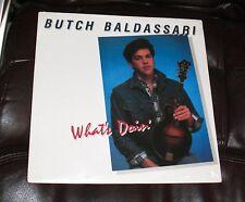 SEALED BUTCH BALDASSARI What's Doin' Mandolin 1987 Cactus LP MINT Dark Rider