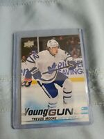 2019-20 Upper Deck Young Guns Rookie Card Trevor Moore # 485 Toronto Maple Leafs