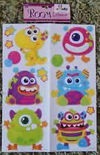 Space Monster Alien Wall Stickers Enfants Filles Garçons Autocollants Stickarounds