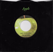 THE BEATLES  Lady Madonna / The Inner Light  45 on APPLE label
