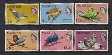 Mauritius - 1968,2c - 1r Oiseaux Avec Changed Couleurs Ensemble - MNH - Sg 370/5