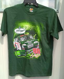 Dale Earnhardt Jr. T Shirt Men's Medium Amp Energy All Over Print NASCAR Racing