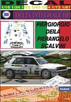 DECAL LANCIA DELTA HF INTEGRALE P. DEILA TARGA FLORIO 1992 WINNER (01)