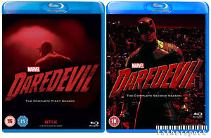 MARVEL'S DAREDEVIL Complete Season 1 & 2 [Blu-ray Set] Netflix Series Collection