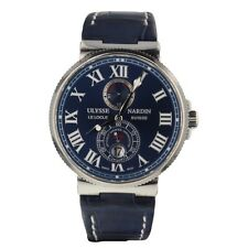 Ulysse Nardin Marine Chronometer 1846 Blue Dial 43 mm Mens Watch 263 67 3/43YAC
