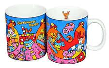 BUDDY BÄR Currywurst XL Tasse Bunt NEU Kaffee Becher Coffee Bear Mug Berllin