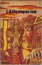 L.A.CON 30a World Science Fiction Convention PROGRESS REPORT 1-4 e PROGRAM BOOK