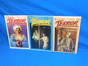 Tales of Terror  #3 4 5 Lot Eclipse Comics 1985 Horror Comic VF+