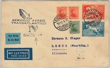 German Air Mail Transports Postal Stamps