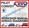 LDV CONVOY PILOT WORKSHOP REPAIR SERVICE MANUAL & WIRING DIAGRAMS VAN COMMERCIAL
