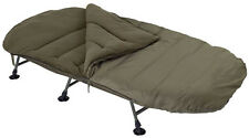 TRAKKER BIG SNOOZE+ WIDE ROOMY 3 SEASON SLEEPING BAG FISHING CAMPING 215X110CM