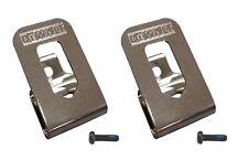 (2) NEW DeWalt 20V Max Li-Ion DCD980 DCD985 Hammer Drill Driver BELT CLIP HOOK