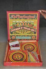 Vintage Chad Valley Boxed The Burlington Compendium Of Popular Games Set,England
