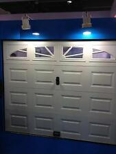 Garagentor,Sektionaltor,Garagentore,Tore,3040 X 2180mm,weiß,box,4x Fenster!Neu!!