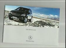 MERCEDES BENZ M CLASS - ML320CDI, ML350CDI &  ML500  SALES BROCHURE JUNE 2005