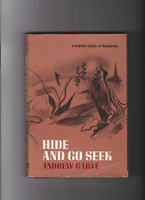 ANDREW GARVE.HIDE AND GO SEEK.SIGNED IST.EDITION .HB/DJ.RARE SIGNATURE.NICE COPY
