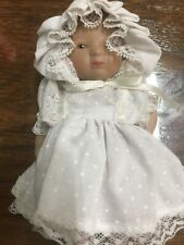 Bisque Jointed Baby Doll Molded Head Roc 5.25�