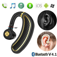 Wireless Bluetooth Ear Hook Sport Earphones Business Headset Stereo Headphones
