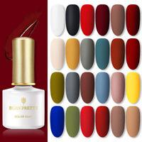 BORN PRETTY 6ml Tränken UV Gel Nagellack Lack Matte Top Base Coat Nail Art