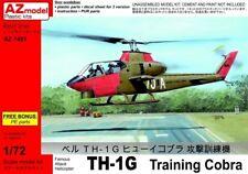 AZ Model 1/72 TH1G Training Cobra Helicopter Model Kit 7451