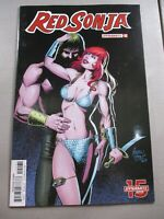 RED SONJA #12 1:10 Andrew Pepoy Seduction Variant Comic Book Dynamite NM